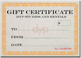 Photo of Gift Certificate